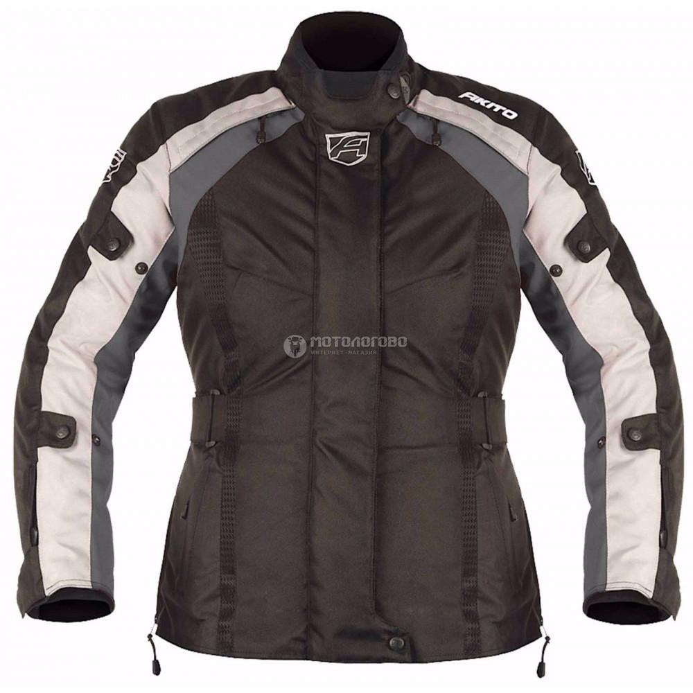 Куртка женская Akito tornado jkt blk/gun