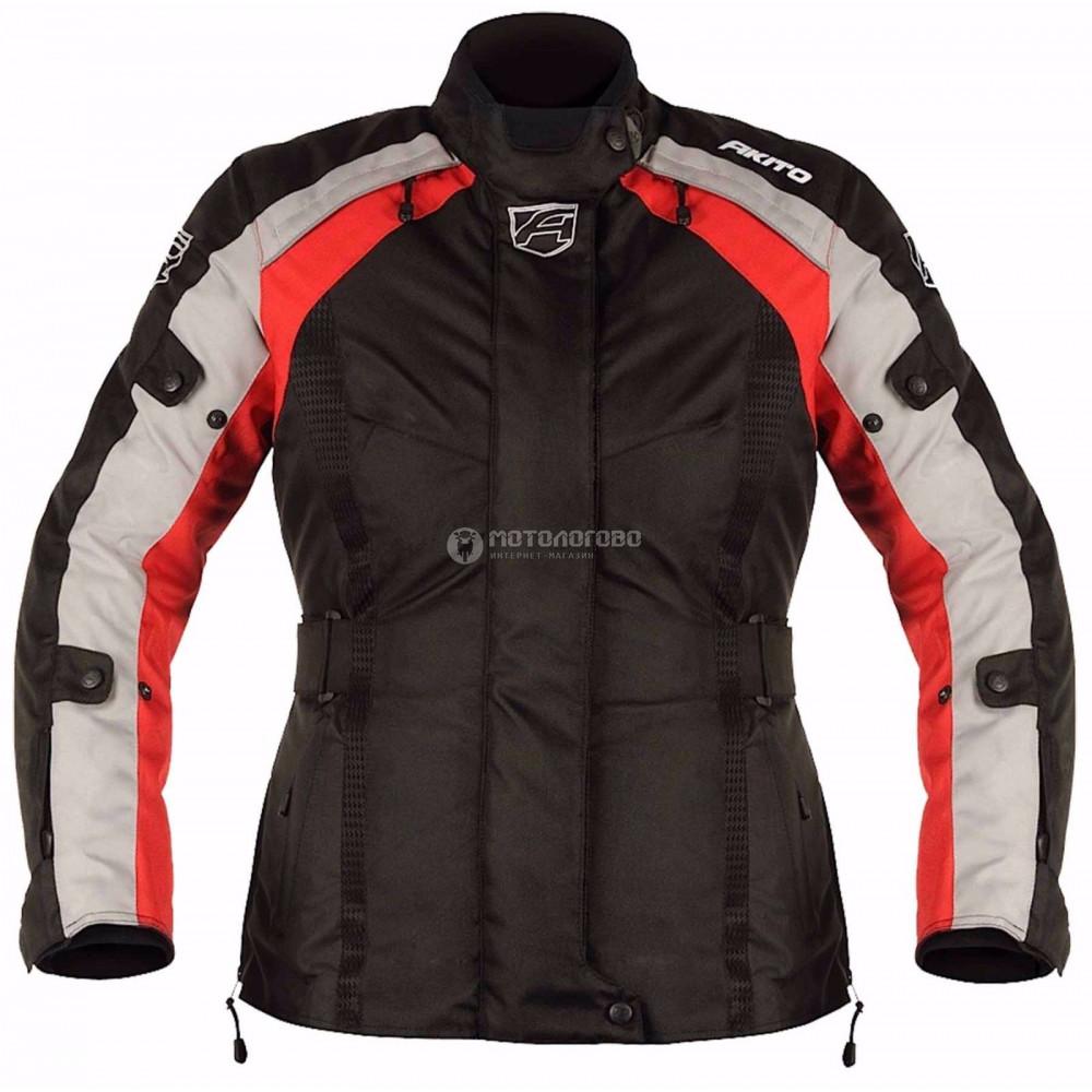 Куртка женская Akito tornado jkt blk/red