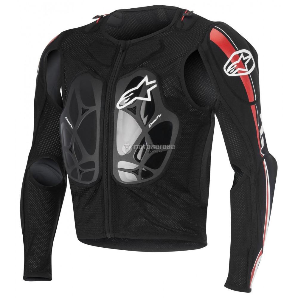 Защитная сетка (черепаха) Alpinestars Bionic pro black/red/white XL