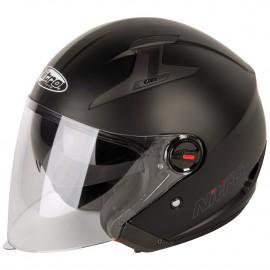 Шлем полулицевик Nitro x600 uno satin black..